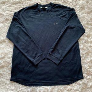 Men's Nike XL Crew Neck Sweatshirt Navy